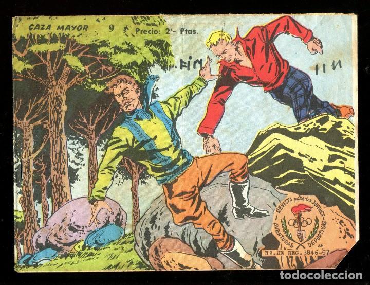 AVENTURAS DEPORTIVAS (2 PTS.) - RICART / NÚMERO 9 (Tebeos y Comics - Ricart - Otros)
