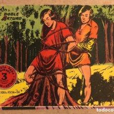 Tebeos: FLECHA Y ARTURO N° 7 (GRÁFICAS RICART 1965). EL DOBLE DE ARTURO.. Lote 172431603