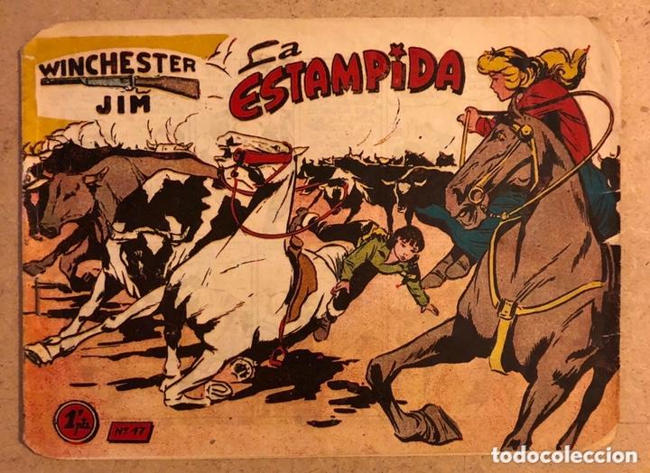 COLECCIÓN WINCHESTER FILM N° 14 (GRÁFICAS RICART). LA ESTAMPIDA. (Tebeos y Comics - Ricart - Otros)