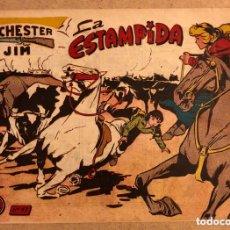 Tebeos: COLECCIÓN WINCHESTER FILM N° 14 (GRÁFICAS RICART). LA ESTAMPIDA.. Lote 172431628