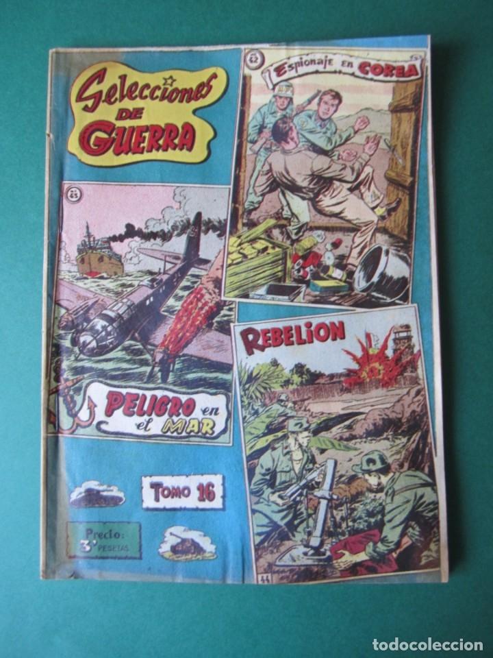 SELECCIONES DE GUERRA (1954, RICART) -ALBUM- 16 · 1954 · ALBUM SELECCIONES DE GUERRA (Tebeos y Comics - Ricart - Otros)