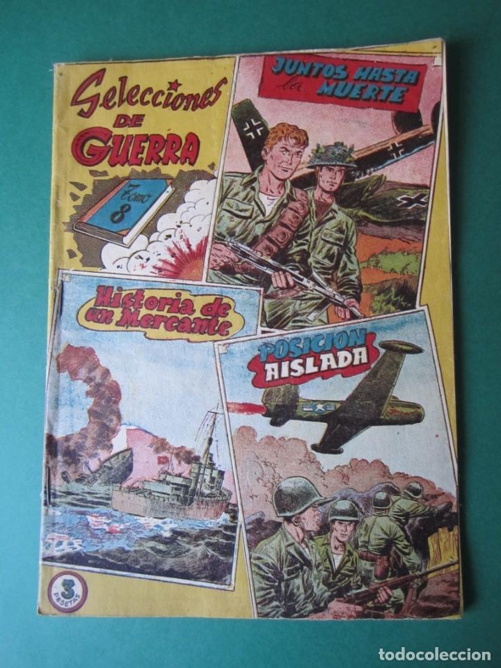 SELECCIONES DE GUERRA (1954, RICART) -ALBUM- 8 · 1954 · ALBUM SELECCIONES DE GUERRA (Tebeos y Comics - Ricart - Otros)