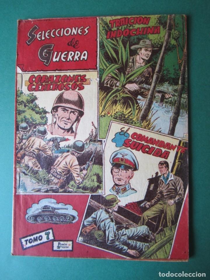 SELECCIONES DE GUERRA (1954, RICART) -ALBUM- 7 · 1954 · ALBUM SELECCIONES DE GUERRA (Tebeos y Comics - Ricart - Otros)