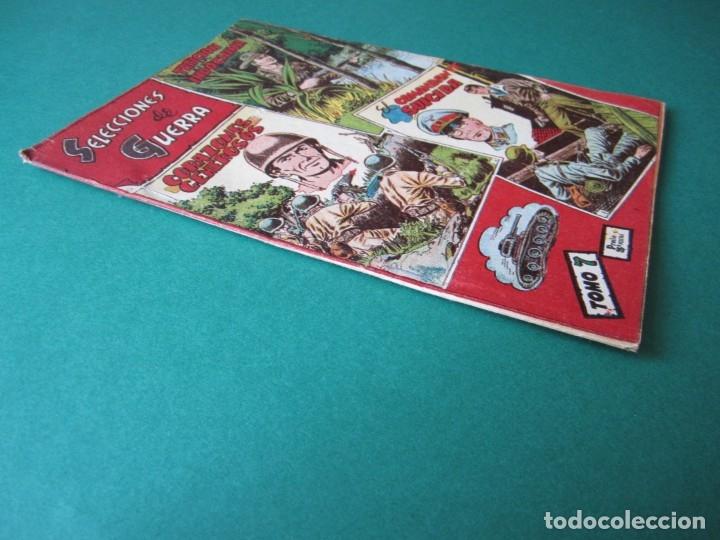 Tebeos: SELECCIONES DE GUERRA (1954, RICART) -ALBUM- 7 · 1954 · ALBUM SELECCIONES DE GUERRA - Foto 3 - 172580934