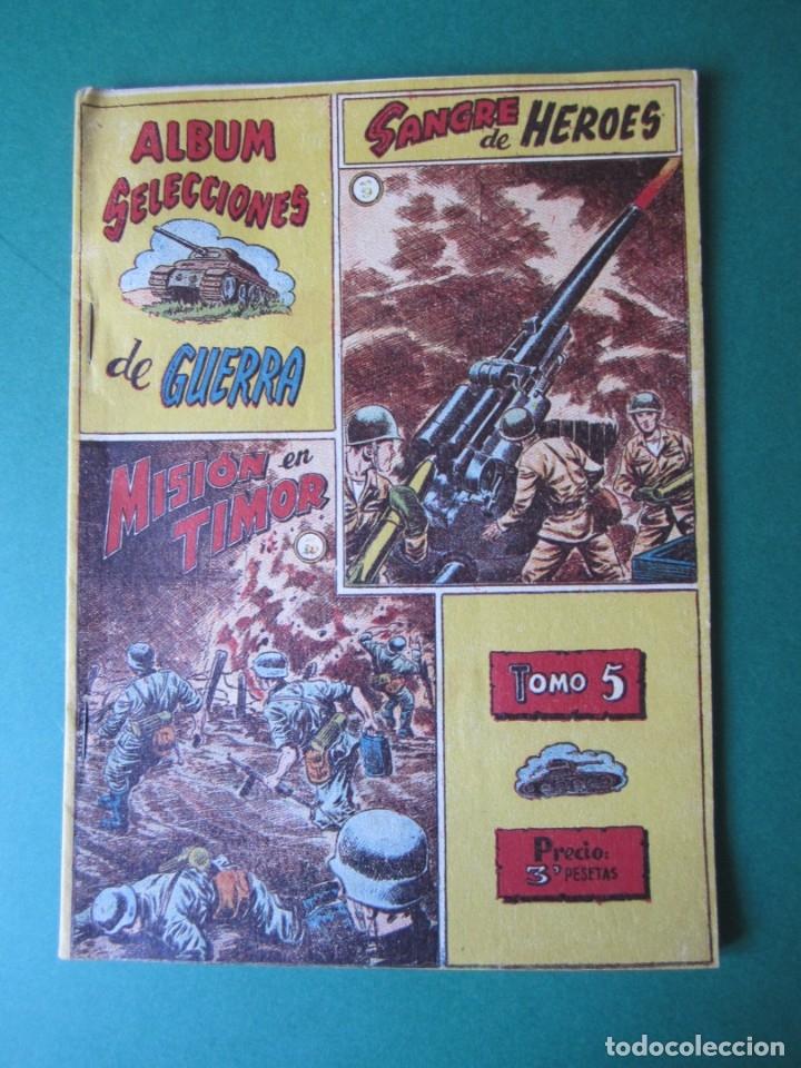 SELECCIONES DE GUERRA (1954, RICART) -ALBUM- 5 · 1954 · ALBUM SELECCIONES DE GUERRA (Tebeos y Comics - Ricart - Otros)