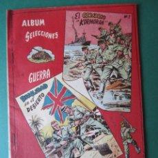 Tebeos: SELECCIONES DE GUERRA (1954, RICART) -ALBUM- 5 · 1954 · ALBUM SELECCIONES DE GUERRA. Lote 172581147