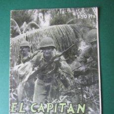 Tebeos: SELECCIONES DE GUERRA (1952, RICART) 1 · 15-XI-1952 · EL CAPITÁN HANAKO. Lote 172581522