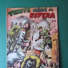 Tebeos: SELECCIONES DE GUERRA (1952, RICART) 35 · 15-IV-1954 · VEINTE AÑOS DE ESPERA. Lote 172581785