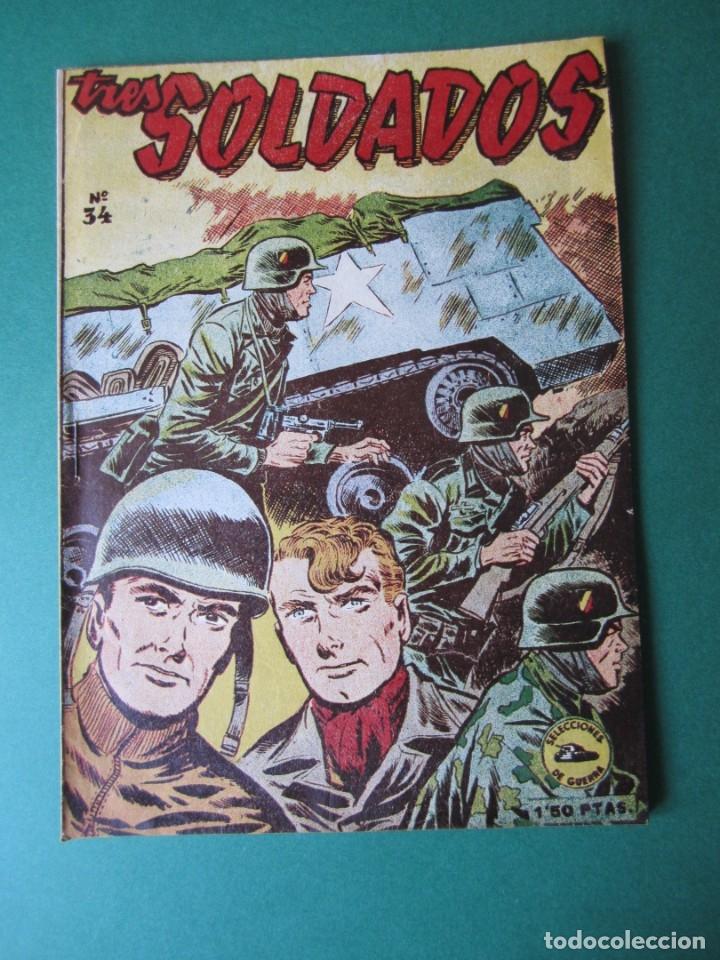 SELECCIONES DE GUERRA (1952, RICART) 35 · 15-IV-1954 · VEINTE AÑOS DE ESPERA (Tebeos y Comics - Ricart - Otros)