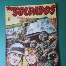 Tebeos: SELECCIONES DE GUERRA (1952, RICART) 35 · 15-IV-1954 · VEINTE AÑOS DE ESPERA. Lote 172581938