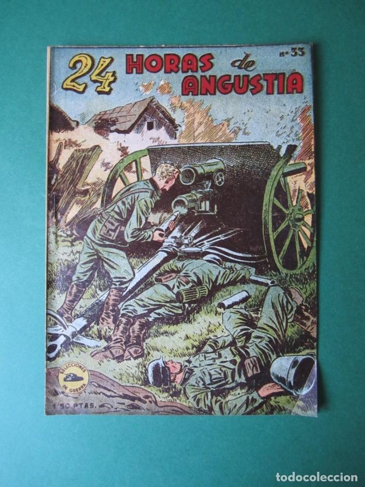 SELECCIONES DE GUERRA (1952, RICART) 33 · 15-III-1954 · HORAS DE ANGUSTIA (Tebeos y Comics - Ricart - Otros)
