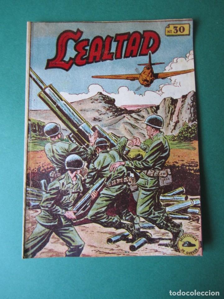 SELECCIONES DE GUERRA (1952, RICART) 30 · 1-II-1954 · LEALTAD (Tebeos y Comics - Ricart - Otros)