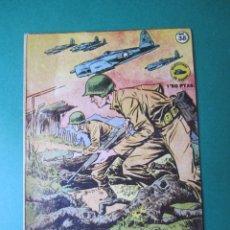 Tebeos: SELECCIONES DE GUERRA (1952, RICART) 38 · 1-II-1954 · FAMA DE HEROE. Lote 172582382