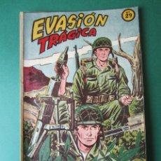 Tebeos: SELECCIONES DE GUERRA (1952, RICART) 29 · 1-III-1954 · EVASIÓN TRAGICA. Lote 172582534