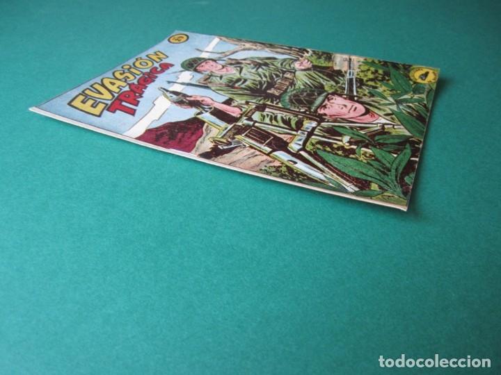 Tebeos: SELECCIONES DE GUERRA (1952, RICART) 29 · 1-III-1954 · EVASIÓN TRAGICA - Foto 3 - 172582534