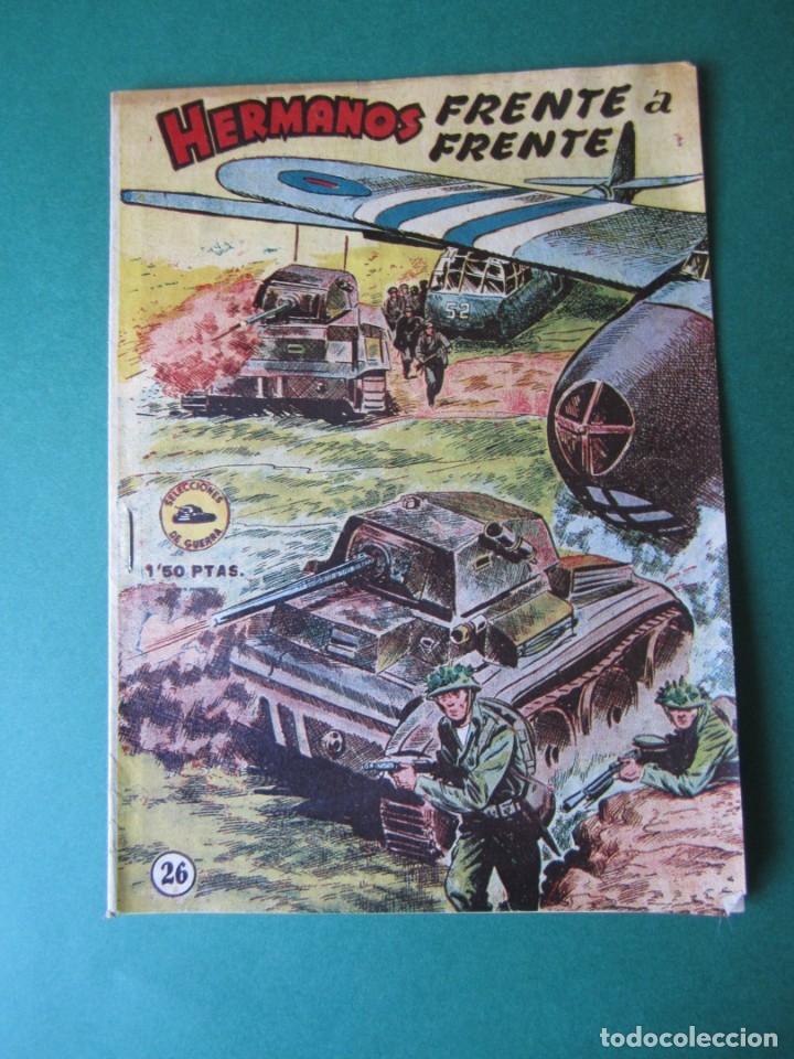 SELECCIONES DE GUERRA (1952, RICART) 26 · 1-III-1954 · HERMANOS FRENTE A FRENTE (Tebeos y Comics - Ricart - Otros)