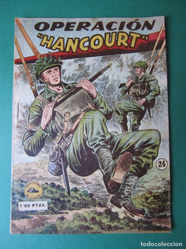 SELECCIONES DE GUERRA (1952, RICART) 24 · 1-III-1954 · OPERACION HANCOURT (Tebeos y Comics - Ricart - Otros)