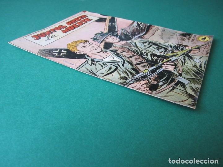 Tebeos: SELECCIONES DE GUERRA (1952, RICART) 18 · 1-VIII-1953 · JUNTOS HASTA LA MUERTE - Foto 3 - 172583074