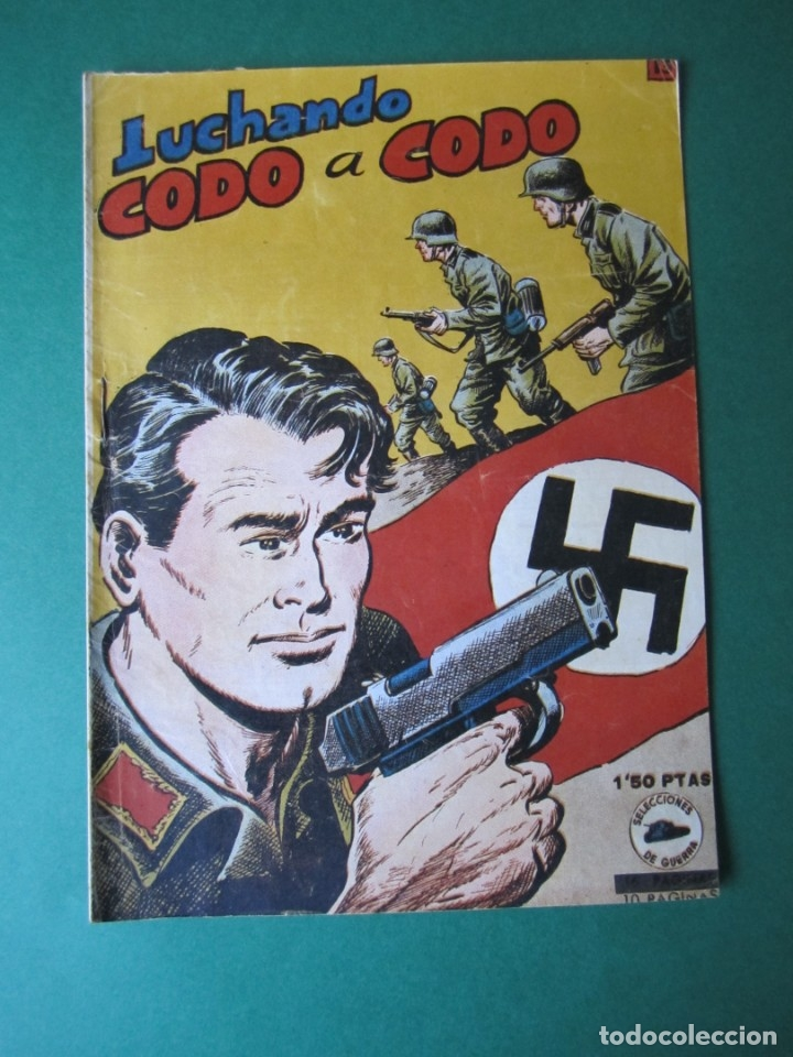 SELECCIONES DE GUERRA (1952, RICART) 13 · 15-V-1953 · LUCHANDO CODO A CODO (Tebeos y Comics - Ricart - Otros)