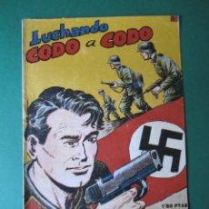 Tebeos: SELECCIONES DE GUERRA (1952, RICART) 13 · 15-V-1953 · LUCHANDO CODO A CODO. Lote 172583185