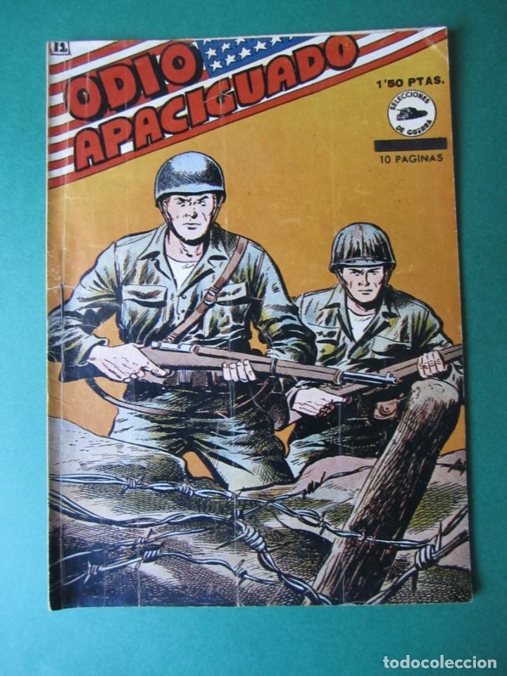 SELECCIONES DE GUERRA (1952, RICART) 12 · 1-V-1953 · ODIO APACIGUADO (Tebeos y Comics - Ricart - Otros)