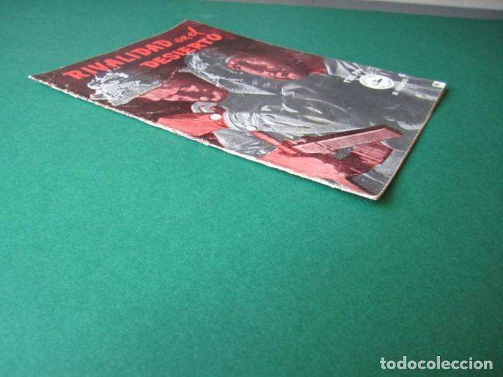 Tebeos: SELECCIONES DE GUERRA (1952, RICART) 8 · 1-III-1953 · RIVALIDAD EN EL DESIERTO - Foto 3 - 172583343