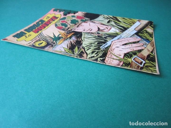 Tebeos: SELECCIONES DE GUERRA (1952, RICART) 21 · 1-III-1953 · EN BUSCA DE LA MUERTE - Foto 3 - 172583719