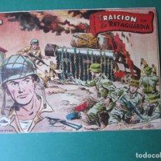 Tebeos: SELECCIONES DE GUERRA (1955, RICART) 1 · 1955 · TRAICIÓN EN LA RETAGUARDIA. Lote 172583918