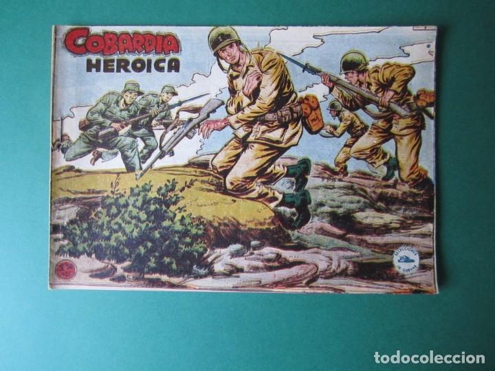 SELECCIONES DE GUERRA (1955, RICART) 9 · 1955 · COBARDÍA HERÓICA (Tebeos y Comics - Ricart - Otros)