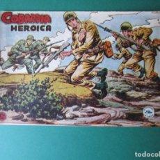 Tebeos: SELECCIONES DE GUERRA (1955, RICART) 9 · 1955 · COBARDÍA HERÓICA. Lote 172584024