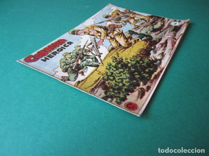 Tebeos: SELECCIONES DE GUERRA (1955, RICART) 9 · 1955 · COBARDÍA HERÓICA - Foto 3 - 172584024