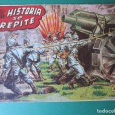 Tebeos: SELECCIONES DE GUERRA (1955, RICART) 4 · 1955 · LA HISTORIA SE REPITE. Lote 172584240