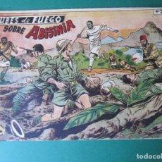 Tebeos: SELECCIONES DE GUERRA (1955, RICART) 3 · 1955 · NUBES DE FUEGO SOBRE ABISINIA. Lote 172584317