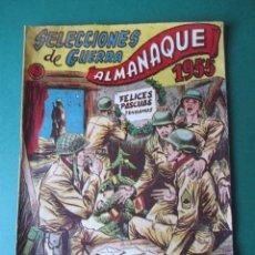 Tebeos: SELECCIONES DE GUERRA (1952, RICART) EXTRA 3 · XI-1954 · ALMANAQUE 1955. Lote 172584564