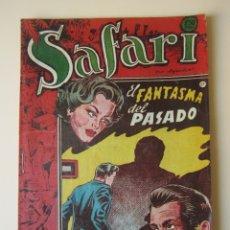 Tebeos: SAFARI (1953, RICART) 25 · 1953 · EL FANTASMA DEL PASADO ¡¡¡ ULTIMO DE LA COLECCIÓN !!!. Lote 172584840