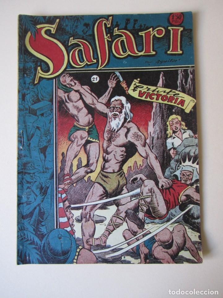 SAFARI (1953, RICART) 21 · 1953 · TRISTE VICTORIA (Tebeos y Comics - Ricart - Safari)