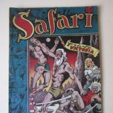 Tebeos: SAFARI (1953, RICART) 21 · 1953 · TRISTE VICTORIA. Lote 172584903