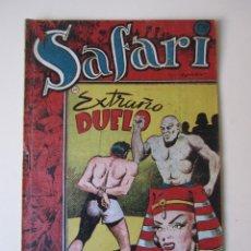Tebeos: SAFARI (1953, RICART) 20 · 1953 · EXTRAÑO DUELO. Lote 172585070