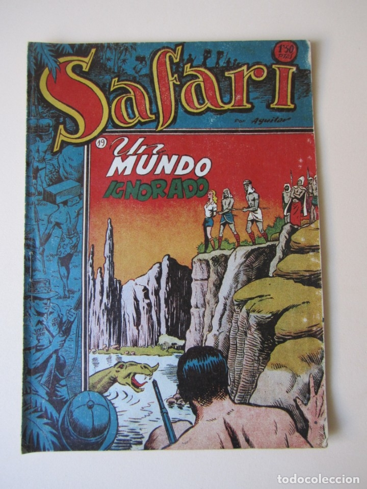 SAFARI (1953, RICART) 19 · 1953 · UN MUNDO IGNORADO (Tebeos y Comics - Ricart - Safari)