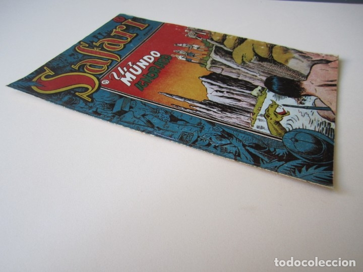 Tebeos: SAFARI (1953, RICART) 19 · 1953 · UN MUNDO IGNORADO - Foto 3 - 172585137