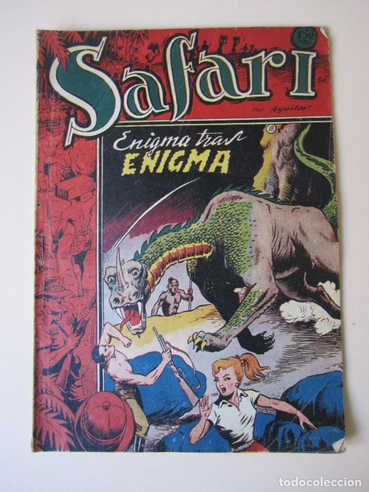 SAFARI (1953, RICART) 18 · 1953 · ENIGMA TRAS ENIGMA (Tebeos y Comics - Ricart - Safari)
