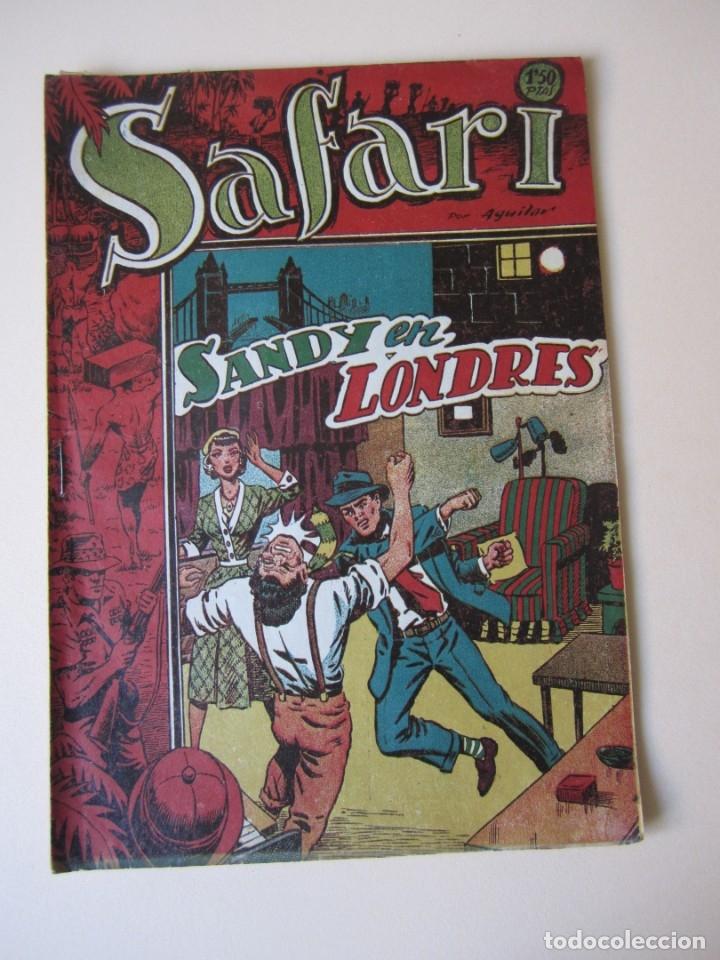 SAFARI (1953, RICART) 24 · 1953 · SANDY EN LONDRES (Tebeos y Comics - Ricart - Safari)