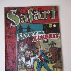 Tebeos: SAFARI (1953, RICART) 24 · 1953 · SANDY EN LONDRES. Lote 172591757