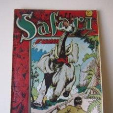 Tebeos: SAFARI (1954, RICART) 6 · 1954 · FURIA. Lote 172591973