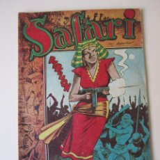 Tebeos: SAFARI (1954, RICART) 8 · 1954 · REBELIÓN ¡¡¡ DIFICIL !!!!. Lote 172592062