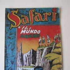 Tebeos: SAFARI (1954, RICART) 7 · 1954 · UN MUNDO IGNORADO. Lote 172592102
