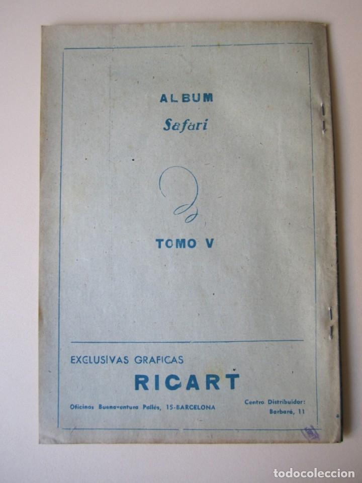 Tebeos: SAFARI (1954, RICART) 4 · 1954 · EL TEMPLO TENEBROSO - Foto 2 - 172592135