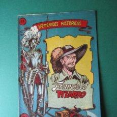 Livros de Banda Desenhada: EFEMERIDES HISTORICAS (1958, RICART) 12 · 1958 · FRANCISCO PIZARRO. Lote 172592262