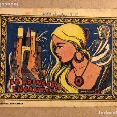 Tebeos: COLECCIÓN ARDILLITA - LA PRINCESA ENCANTADA (GRÁFICAS RICART 1957).. Lote 183306182