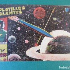 Tebeos: PLATILLOS VOLANTES (1953, RICART) 7 · 1955 · NUEVE MUNDOS. Lote 172663619